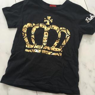 ディーゼル(DIESEL)のBABYDOLL  金   プリント   半袖  110(Tシャツ/カットソー)
