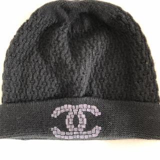 CHANEL - CHANELカシミアニット帽