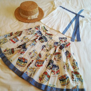 JaneMarple - Jane Marple アニバーサリーハットボックス カットソー&スカート 2点