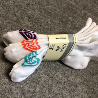 Roxy - ロキシー ROXY 靴下 ソックス 3足セット 新品 レディース