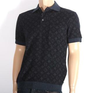 ルイヴィトン(LOUIS VUITTON)のLOUIS VUITTON ルイ ヴィトン  モノグラム半袖ポロシャツ(ポロシャツ)