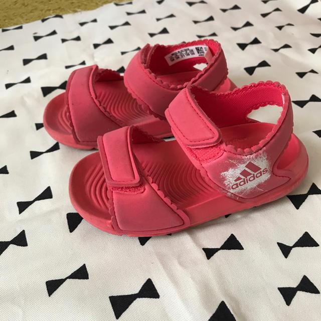adidas(アディダス)のアディダス キッズサンダル 13センチ キッズ/ベビー/マタニティのベビー靴/シューズ(~14cm)(サンダル)の商品写真