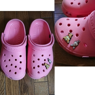 crocs - クロックス シビッツ付き S