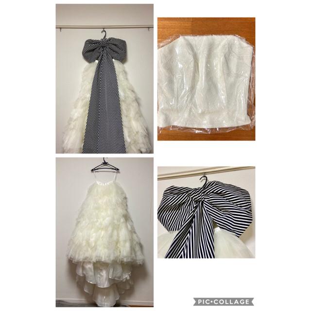BEAMS(ビームス)のワタベウエディング×beams コラボドレス レディースのフォーマル/ドレス(ウェディングドレス)の商品写真