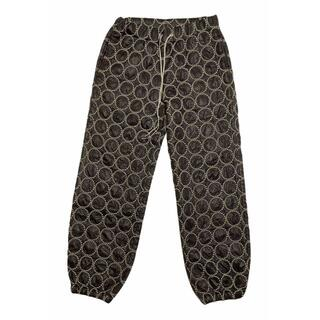 mina perhonen - ミナペルホネン 刺繍タンバリン パンツ 裏地スウェット