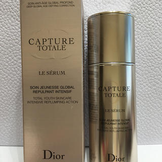 ディオール(Dior)の新品☆ディオール  ♡美容液 カプチュール トータルセラム(美容液)
