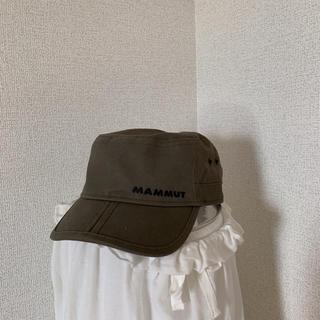 マムート(Mammut)のMAMMUT キャップ カーキ(登山用品)