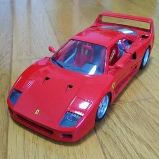 フェラーリ(Ferrari)のブラーゴ フェラーリ F40 1/18 ミニカー 美品(ミニカー)