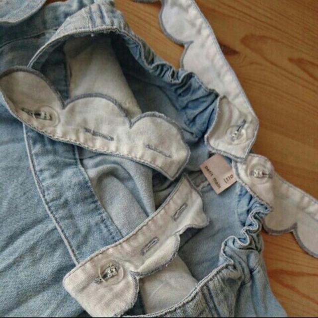 petit main(プティマイン)のプティマイン  110 キッズ/ベビー/マタニティのキッズ服 女の子用(90cm~)(スカート)の商品写真