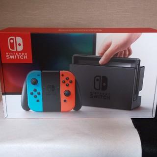 Nintendo Switch - ☆新品・未使用・未開封 ニンテンドースイッチ本体 ネオンブルー/ネオンレッド