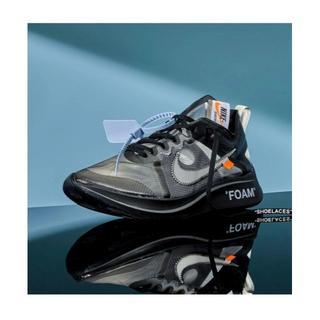 NIKE - 試着のみ Nike The ten :zoom fly/off white