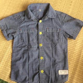 ニシマツヤ(西松屋)の130 綿シャツ(Tシャツ/カットソー)