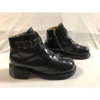 ドクターマーチン(Dr.Martens)の美品 ドクターマーチン☆☆イングランド☆☆超厚底 サイドジップ(ブーツ)