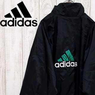 adidas - 【01-88】アディダス ナイロンジャケット バック刺繍ロゴ 90's