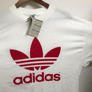 アディダス(adidas)のadidas Tシャツ USA 90S 両面ロゴ vintage デッドストック(Tシャツ/カットソー(半袖/袖なし))