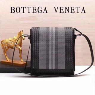 ボッテガヴェネタ(Bottega Veneta)のボッテガヴェネタ ショルダーバッグ ブラック メンズ出勤(ショルダーバッグ)
