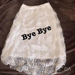 ByeBye - Bye Bye シースルー スカート