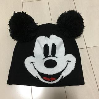 エイチアンドエム(H&M)のニットキャップ ミッキーマウス(ニット帽/ビーニー)