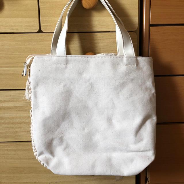 しまむら(シマムラ)のフリンジトート レディースのバッグ(トートバッグ)の商品写真