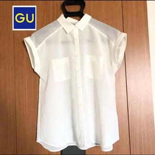 ジーユー(GU)のGU ブラウス シャツ(シャツ/ブラウス(半袖/袖なし))