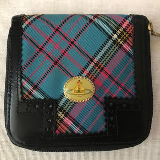 Vivienne Westwood - VivienneWestwood ブルーマック折財布