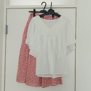 サマンサモスモス(SM2)のトップス+スカート(セット/コーデ)