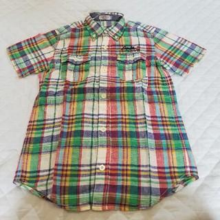 DOUBLE.B - ダブルB140サイズCOTTON×LINENシャツ