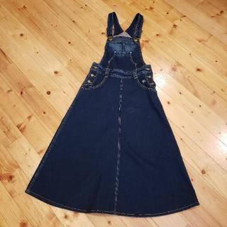 バーバリーブルーレーベル(BURBERRY BLUE LABEL)のバーバリー・ブルーレーベル♡デニムスカート(ロングスカート)