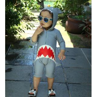 【新品】大人気可愛い♡ 男の子 サメ 水着 プール UVカット ラッシュガード