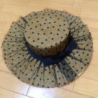 ワンスポ(one spo)のonespo 帽子(麦わら帽子/ストローハット)