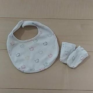 ベビーギャップ(babyGAP)のbaby Gapスタイ&ミトン(ベビースタイ/よだれかけ)