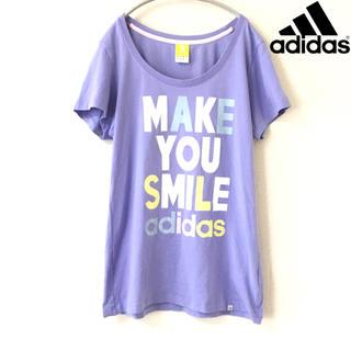 ecf5eea9dad205 アディダス(adidas)の【adidas】Tシャツ (LL) スポーツ アディダス 紫