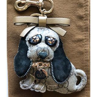 グッチ(Gucci)のGUCCI  キーホルダー  グッチョリシリーズ  ビーグル犬(キーホルダー)