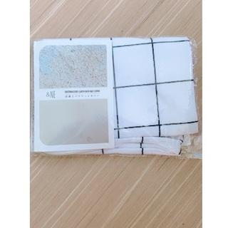 フランフラン(Francfranc)の珪藻土バスマットカバー グラフチェック (バスマット)