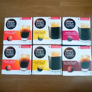 Nestle - ネスレ コーヒー6点 ドルチェグスト
