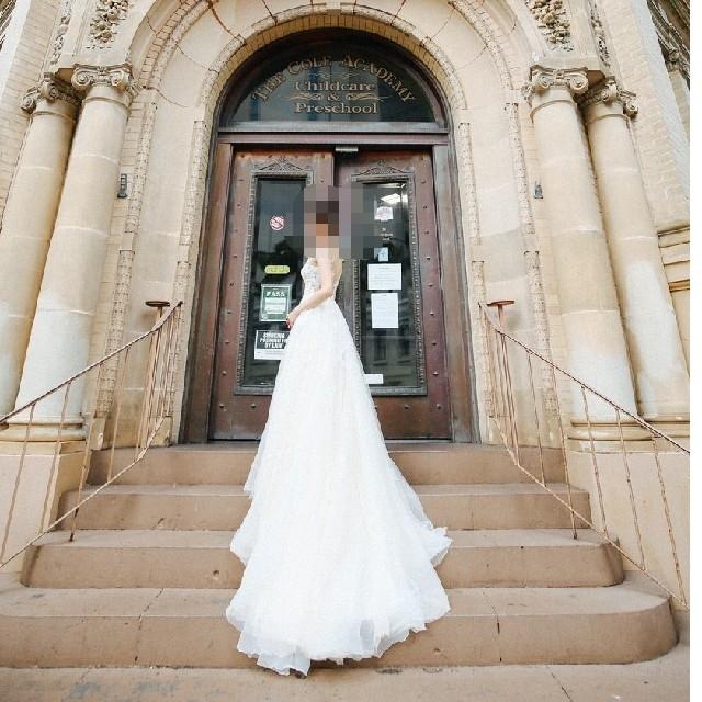 Maaさま◆プロノビアス ofelia 結婚式 ウェディングドレス レディースのフォーマル/ドレス(ウェディングドレス)の商品写真