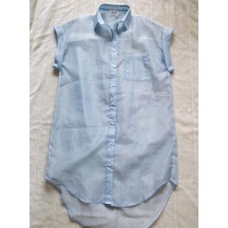 268 シースルー ロングシャツ(カーディガン)
