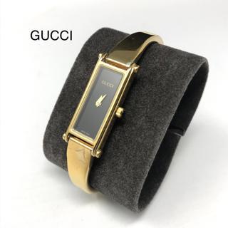 グッチ(Gucci)の正規品 グッチ バングル 腕時計 1500 ゴールド(腕時計)