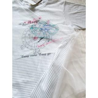 269 シースルー付き ロックンロールTシャツ(Tシャツ(半袖/袖なし))