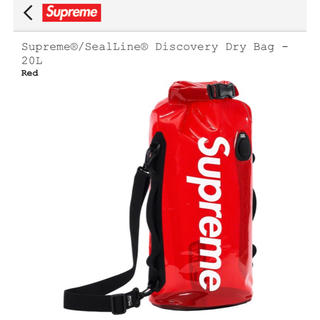 Supreme - 国内発送 19ss SupremeDry Bag 20L RED