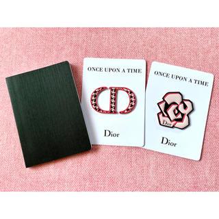 ディオール(Dior)のディオール ノベルティ メモ帳&ステッカー ショッパー付き(ノベルティグッズ)