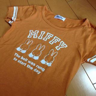MIFFYオレンジラインT(Tシャツ(半袖/袖なし))