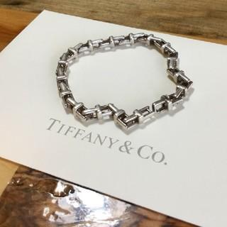 ティファニー(Tiffany & Co.)のティファニー T ナロー チェーンブレスレット 17.5cm silver925(ブレスレット/バングル)