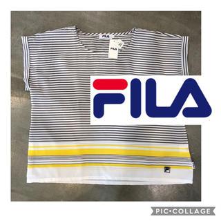 フィラ(FILA)の新品 タグ付き★FILAフィラ 3L レディース 夏ブラウス カットソー テニス(Tシャツ(半袖/袖なし))