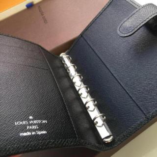 ルイヴィトン(LOUIS VUITTON)の新品未使用正規品ルイヴィトンタイガ手帳カバー黒色(手帳)
