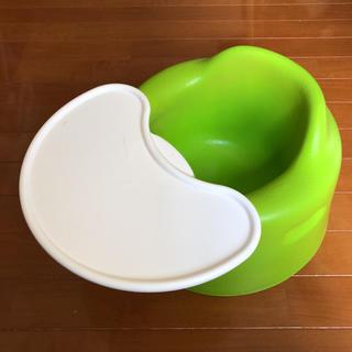 バンボ(Bumbo)のバンボ  テーブル付 (グリーン)(その他)