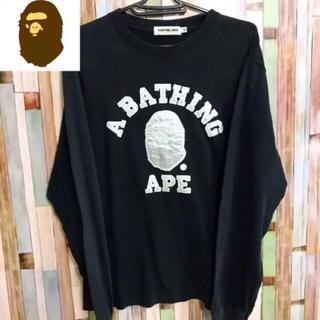 アベイシングエイプ(A BATHING APE)のB0348 アベイシングエイプ ロンT(Tシャツ/カットソー(七分/長袖))