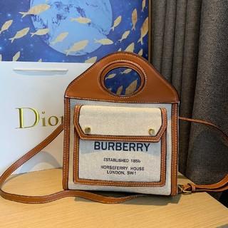 バーバリー(BURBERRY)のバーバリー  ショルダーバッグ  ハンドバッグ  男女兼用  大容量(ショルダーバッグ)