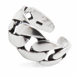 リング 指輪 喜平チェーン シルバー925 編み レディース  メンズ(リング(指輪))