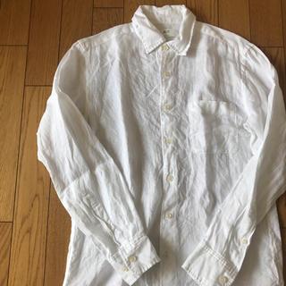 UNIQLO - UNIQLO 白シャツ 麻
